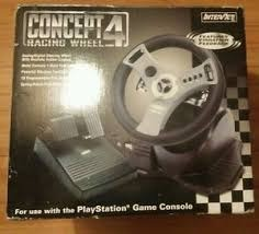 Concept 4 Racing Wheel - PS2