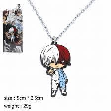 My Hero Academia - Todoroki Metal Chain Necklace