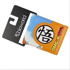 SS God Goku Bioworld Bi-fold Wallet