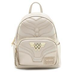 Loungefly x DC Comics Wonder Woman Metallic Mini Backpack
