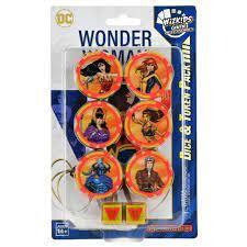 Wonder Woman 80th Anniversary - Dice and Token Set