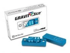 Gravity Dice 2 D6 Dice Set - Cobalt Blue (Ultra Pro)