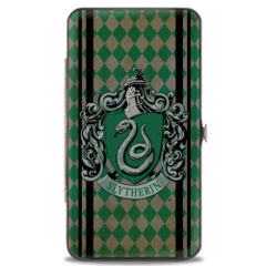 Hinged Wallet - Harry Potter - Slytherin
