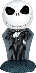 Nightmare Before Christmas Jack Skellington Coin Bank on Tomb