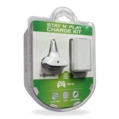 Tomee Stay N' Play Kit (Xbox 360) - White