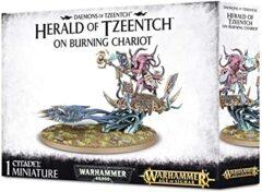 Daemons of Tzeentch: Herald of Tzeentch on Burning Chariot