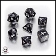Classic RPG Dice - Black and White