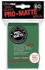 Ultra Pro Pro-Matte Small Sleeves - Dark Green (60ct).