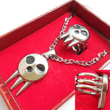 Soul Eater - Pendant and Ring Set