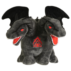 Double Headed Dragon Plush