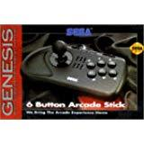 Sega Genesis 6 Button Fight Stick