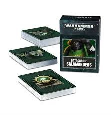 Warhammer 40K - Datacards - Salamanders