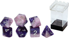 Gate Keeper Dice - Halfsies - Princess Dice - 7 Dice Set