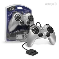 Armor 3 Wired Controller - PS1 PS2 - Silver
