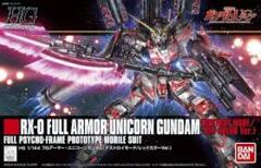RX-0 Full Armor Unicorn Gundam - Red Color Version HG