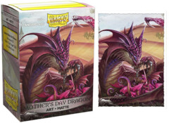 Art Matte Sleeves - Mothers Day Dragon - Standard Box Sleeves - 100ct