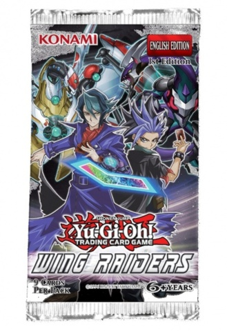 Wing Raiders Booster Pack - 1st Edition (Yu Gi Oh)