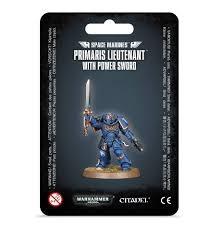 Space Marines - Primaris Lieutenant with Power Sword
