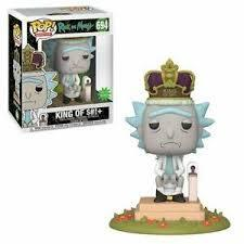 #694 Rick and Morty - King of $#!+