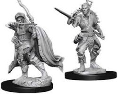 Dungeons & Dragons Nolzur`s Marvelous Unpainted Miniatures - Elf Rogue Male
