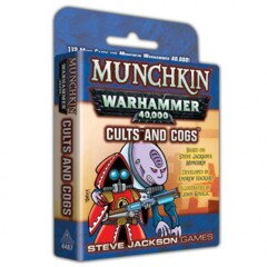 Munchkin - Warhammer 40K - Cults and Cogs