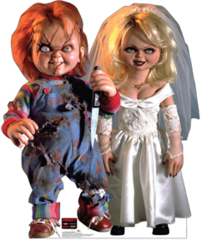 Lifesize Standup - Chucky and Bride of Chucky