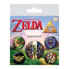 Badge Pack - Zelda