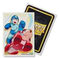 Art Sleeves: Mega Man and Rush - Standard Box Sleeves - 100ct