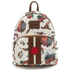 Loungefly - Harry Potter Relic Tattoo Envelope Mini Backpack