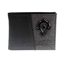 World of Warcraft - Bi Fold Wallet - Metal Logo - Horde