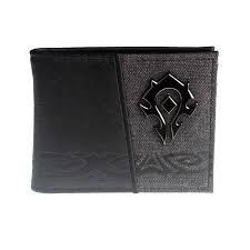 World of Warcraft - Bi Fold Wallet - Metal Logo - Horde