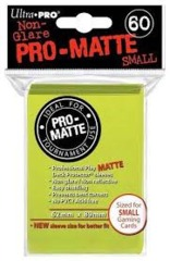 Ultra Pro PRO-Matte Small Sleeves - Bright Green