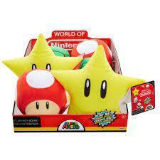 Super Mario Plush with Sound - Star