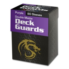 Purple - Deck Guard Double Matte Sleeves (BCW)