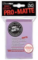 50ct Pro-Matte Lilac Standard Deck Protectors