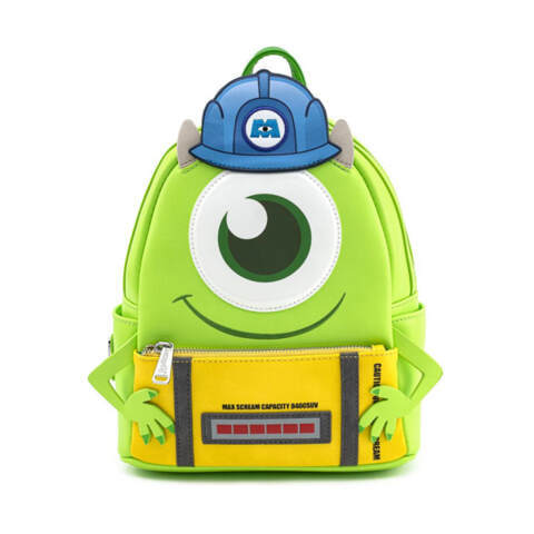 Loungefly Disney Mike with Scare Can Cosplay Mini Backpack