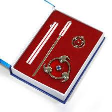 Naruto - Sasuke - Sword and Pin Set