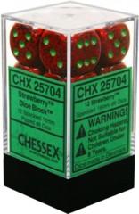 Golden Strawberry Speckled d6 16mm - Chx25704
