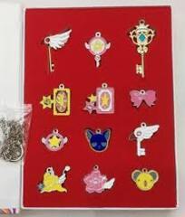 Card Captor Sakura - Keychain Set - 12 Piece