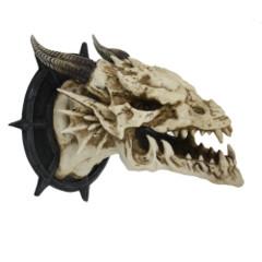Dragon Skull Wall Plaque