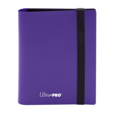 4 Pocket Pro Binder - Purple