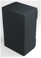 GAME GENIC DECK BOX: STRONGHOLD 200+ CONVERTIBLE (BLACK)