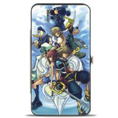 Hinged Wallet - Kingdom Hearts