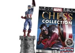 Marvel Chess Pieces: Captain America  (White King)