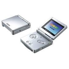 Game Boy Advance SP - Platinum