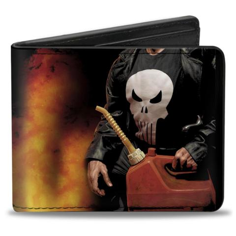 Bi Fold Wallet - Punisher - Gas Can