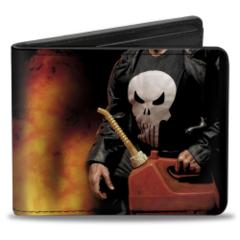 Bi Fold Wallet - Punisher - Gas Can