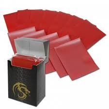 Red - Deck Guards - Double Matte - 80ct