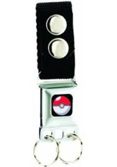 Seatbelt Keychain: Pokemon - Pokeball