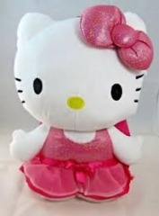 Plush Backpack - Hello Kitty